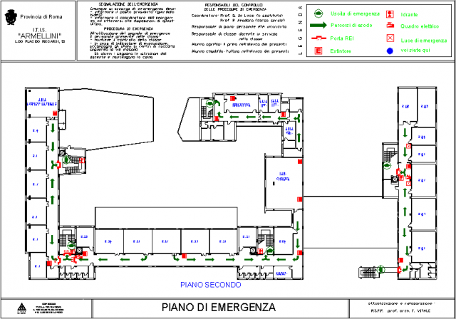 Piano delle Emergenze - Itis G. Armellini